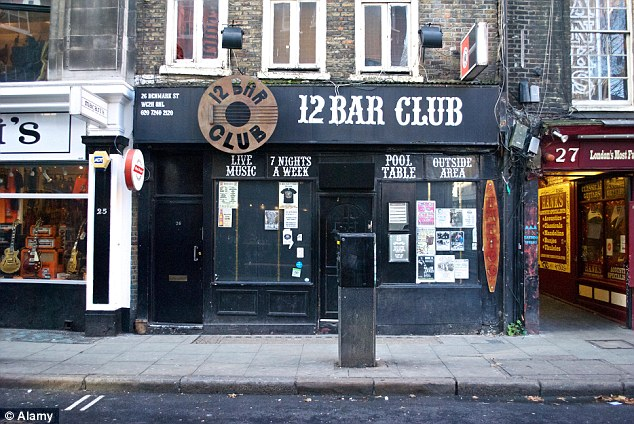 The 12 Bar Club, where Adele and Jeff Buckley performed early gigs, is also being forced to relocate