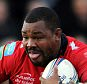 Toulon's Steffon Armitage during the Heineken Cup match at Sandy Park, Exeter.