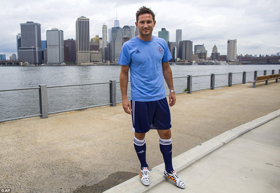 Lampard agreed a deal to join New York City in July, but later joined Manchester City on a short-term deal - now running until May