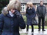 Coronation Streets Gail McIntyre (played by Helen Worth) goes to the funeral of the REAL Gavin Rodwell with the fake Gavin Rodwell (played by Oliver Farnwoth). Gail who is engaged to marry Michael Rodwell (played by Les Dennis) but hasn't told him the truth about his real and fake son because she thinks the shock may kill him.