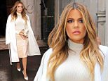 Mandatory Credit: Photo by Kristin Callahan - ACE Pictures/REX (4425578n)\n Khloe Kardashian\n Kim Kardashian out and about, New York, America - 10 Feb 2015\n Khloe Kardashian leaves an event in Midtown\n