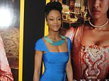 Mandatory Credit: Photo by MediaPunch/REX (3721899al).. Yaya DaCosta.. 'Belle' film premiere, New York, America - 28 Apr 2014.. WEARING HERVE LEGER..
