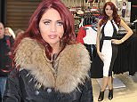 Mandatory Credit: Photo by Jace/REX (4425472f)  Amy Childs  Amy Childs with her clothing line at Dorothy Perkins in Newcastle, Britain - 10 Feb 2015