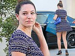 09.FEBRUARY.2015 - BEVERLY HILLS - USA *** EXCLUSIVE ALL ROUND PICTURES *** BRITISH MODEL AND ACTRESS KELLY BROOK GOES MAKE UP FREE AS SHE LEAVES LANCER DERMATOLOGY IN BEVERLY HILLS, CALIFORNIA. BYLINE MUST READ : XPOSUREPHOTOS.COM ***UK CLIENTS - PICTURES CONTAINING CHILDREN PLEASE PIXELATE FACE PRIOR TO PUBLICATION *** **UK CLIENTS MUST CALL PRIOR TO TV OR ONLINE USAGE PLEASE TELEPHONE  44 208 344 2007**