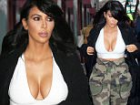 Mandatory Credit: Photo by Startraks Photo/REX (4422450h)\n Kim Kardashian\n Kim Kardashian out and about, New York, America - 09 Feb 2015\n Kim Kardashian strolling in Soho\n