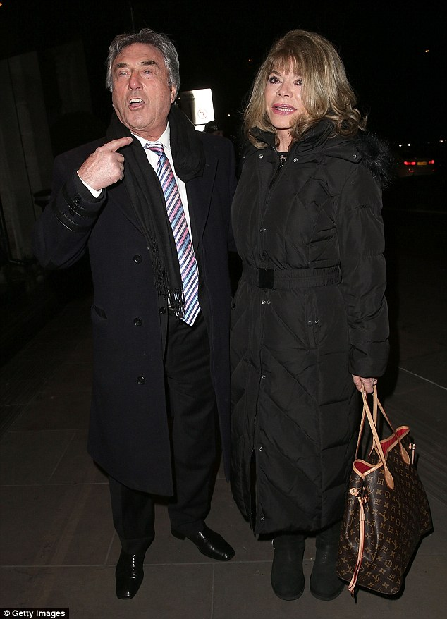 Showbiz: The Bill and Eastenders actor Billy Murray attended the elite £3million bash with his wife Elaine
