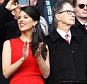 Liverpool Chairman John W Henry and his wife Linda Pizzuti. April 13th 2014 - Liverpool, UK. Premier League: Liverpool v Manchester City Picture by Ian Hodgson/Daily Mail