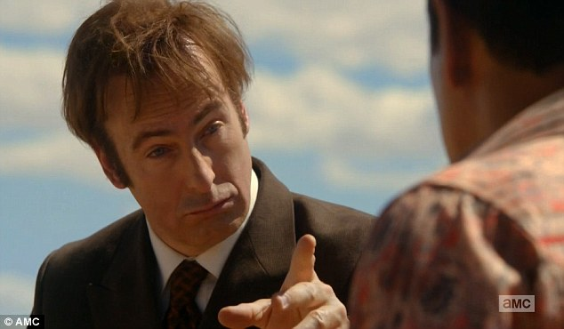 Success: The two-part debut for Better Call Saul has opened with 6.9 million viewers - which, according to the Nielsen ratings, makes it the highest-rated cable TV ever in a major demographic, ever