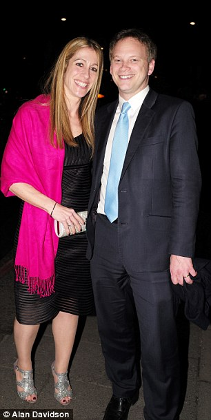 Tory party chairman Grant Shapps and his wife Belinda