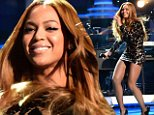 Beyonce performs onstage during Stevie Wonder: Songs In The Key Of Life - An All-Star GRAMMY Salute at Nokia Theatre L.A. Live on February 10, 2015 in Los Angeles, California