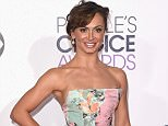 LOS ANGELES, CA - JANUARY 07:  Professional dancer Karina Smirnoff attends The 41st Annual People's Choice Awards at Nokia Theatre LA Live on January 7, 2015 in Los Angeles, California.  (Photo by Jason Merritt/Getty Images)