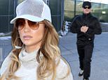 Jennifer Lopez and Casper back on? Caption: Jennifer Lopez was seen dressed down in sweats at LAX and not far behind her was her ex beau Casper Smart. Are they back together