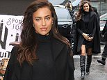 Model Irina Shayk attends Sport Illustrated Swimsuit event at Herald Square in New York, NY on February 9, 2015. Photo by Charles Guerin/ABACAUSA.COM