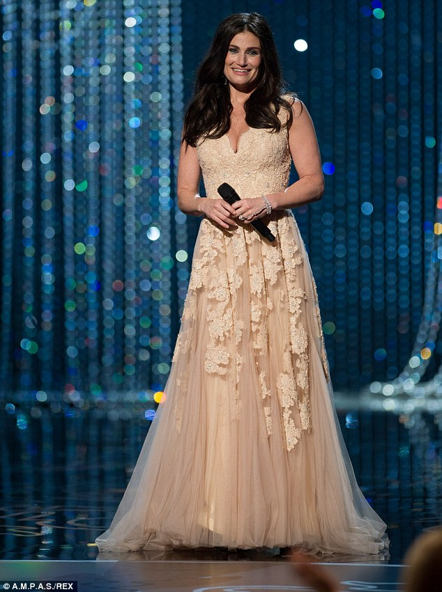 Not even close: The Grease actor called the Frozen star 'Adele Dazeem' as he introduced her at last year's awards (pictured)