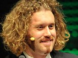 SAN FRANCISCO, CA - FEBRUARY 05: TJ Miller hosts the TechCrunch 8th Annual Crunchies Awards at the Davies Symphony Hall on February 5, 2015 in San Francisco, California. (Photo by Steve Jennings/Getty Images for TechCrunch)