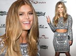 Model Nina Agdal attends the 2015 Sports Illustrated Swimsuit Issue celebration at Mar