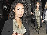 10.FEBRUARY.2015 - LONDON - UK *** STRICTLY NOT AVAILABLE FOR MAIL ONLINE AND ANY ONLINE SUBSCRIPTION DEALS UNLESS FEE AGREED PRIOR TO USAGE*** *** EXCLUSIVE ALL ROUND PICTURES *** LITTLE MIX SINGER LEIGH-ANNE PINNOCK PICTURED LEAVING 'BURGER AND LOBSTER' RESTAURANT AFTER DINING WITH A FRIEND IN LONDON, UK. BYLINE MUST READ : XPOSUREPHOTOS.COM ***UK CLIENTS - PICTURES CONTAINING CHILDREN PLEASE PIXELATE FACE PRIOR TO PUBLICATION *** **UK CLIENTS MUST CALL PRIOR TO TV OR ONLINE USAGE PLEASE TELEPHONE 44 208 344 2007**