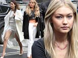 Gigi Hadid, and two fars of Lily ALdridge and Chrissy Teigen