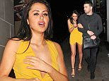 Picture Shows: Marnie Simpson, Ricky Rayment  February 12, 2015    Marnie Simpson and Ricky Rayment are seen leaving DSTRKT club together in London.    Non-Exclusive  WORLDWIDE RIGHTS    Pictures by : FameFlynet UK    2015  Tel : +44 (0)20 3551 5049  Email : info@fameflynet.uk.com