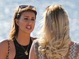TOWIE girls shooting scenes out and about in Tenerife, Spain.  Pictured: towie Ref: SPL948421  110215   Picture by: BACP / Splash News  Splash News and Pictures Los Angeles: 310-821-2666 New York: 212-619-2666 London: 870-934-2666 photodesk@splashnews.com