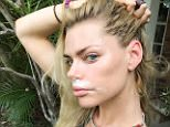 Sophie Monk Don't hate me because I'm beautifully getting rid of my blonde moustache and random nose hairs #NoNothing #NoHair #Nair ?? http://instagram.com/p/y_eNqnlc2m/?modal=true