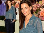 Mandatory Credit: Photo by ddp USA/REX (4428139d)\n Katie Holmes\n JC Penney hosts modern day Fairy tale, New York, America - 11 Feb 2015\n JC Penney hosts modern day Fair tale in celebration of its collaboration with Disney's 'Cinderellea'\n