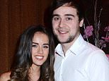 Georgia May Foote celebrates her 23rd birthday with fiance John Sage at The Wright Venue's Baroque Club  Featuring: Georgia May Foote, John Sage Where: Dublin, Ireland When: 08 Feb 2014 Credit: WENN.com