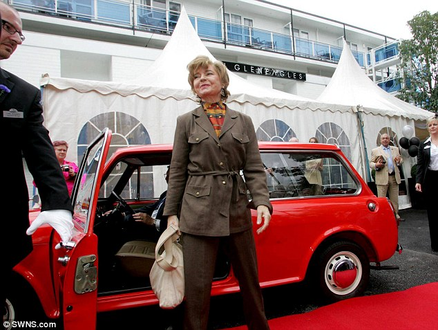Prunella Scales, who played Cybil Fawlty, celebrated the world-famous hotel's revamp in 2006