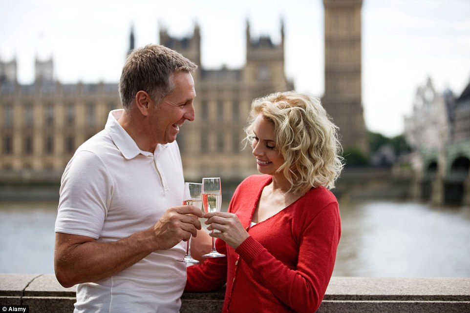 The journey will set out from London, which has its own fair share of romantic spots, including stunning views over the River Thames