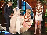 On Thursday, February 12th, star of    Gone Girl,    Rosamund Pike joins    The Ellen DeGeneres Show.    Rosamund, who has a nine-week-old baby, talks about the struggles of breastfeeding during awards show season. Ellen gifts the first time Oscar nominee with a dress for the Oscars that comes fully equipped with a double breast pump.
