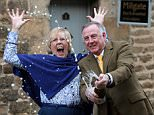 **UNDER EMBARGO UNTIL 05:01 WEDNESDAY 21 JANUARY 2015** Sue and Andrew Burrell celebrate after finding out their B&B the Millgate, in Masham North Yorkshire, has been named best B&B in the world by Tripadvisor. See RPYAWARD A quaint bed and breakfast in a small market town has been named the best in the WORLD - and rooms can be bagged for less than 40 a night. Millgate Bed & Breakfast has been placed top B&B in the 2015 Travellers       Choice awards for hotels, according to review website TripAdvisor. And incredibly, rooms at the idyllic Grade II listed guesthouse in Masham, North Yorks., start from 38 per person, per night.