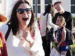 EXCLUSIVE: Courteney Cox and David Arquette reunite at daughter Coco's soccer game in LA! The divorced couple were seen laughing and joking around as they left the game with coco in LA. Coco was seen grabbing her mom's hand as she dragged her away from chatting with friends after the game. Courteney looked to play the busy mom as she juggled her daughters soccer gear before heading home.  Pictured: Courteney Cox, David Arquette, Coco Ref: SPL944015  110215   EXCLUSIVE Picture by: Splash News  Splash News and Pictures Los Angeles: 310-821-2666 New York: 212-619-2666 London: 870-934-2666 photodesk@splashnews.com