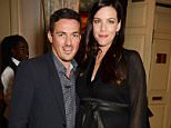 LONDON, ENGLAND - NOVEMBER 20:  Dave Gardner (L) and Liv Tyler attend a party hosted by David Beckham and Alister Mackie to celebrate Another Man Magazine at Mark's Club on November 20, 2014 in London, England.  (Photo by David M. Benett/Getty Images for Dazed Group)