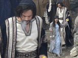 EXCLUSIVE Photos of the set of Ben Hur, a remake of the 1959 movie. 12 February 2015. 13 February 2015. Please byline: SGP/Vantagenews.co.uk