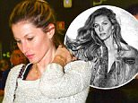 "Gisele Bundchen says ""bye"" to Sao Paulo through LAX Airport"