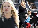 Picture Shows: Ali Larter, Theodore MacArthur  February 13, 2015\n \n Bare-faced beauty Ali Larter is seen running errands with her son Theodore in Los Angeles, California. \n \n The former 'Heroes' star, who gave birth again just four weeks ago, went make-up free on her morning trip out. \n \n Non Exclusive\n UK RIGHTS ONLY\n \n Pictures by : FameFlynet UK � 2015\n Tel : +44 (0)20 3551 5049\n Email : info@fameflynet.uk.com