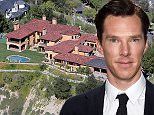 Aerial views of Benedict Cumberbatch's new home in Hidden Hills, CA.  Pictured: Aerial view, Benedict Cumberbatch's house, GV, general view. Ref: SPL950387  120215   Picture by: Splash News  Splash News and Pictures Los Angeles: 310-821-2666 New York: 212-619-2666 London: 870-934-2666 photodesk@splashnews.com