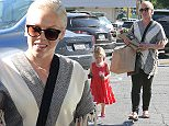 Pink was seen buying flowers with her daughter Willow in Brentwood.  Pictured: Pink and Willow Sage Hart Ref: SPL948604  120215   Picture by: Reefshots / Splash News  Splash News and Pictures Los Angeles: 310-821-2666 New York: 212-619-2666 London: 870-934-2666 photodesk@splashnews.com