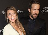 Celebrity red carpet arrivals for ANGEL BALL 2014 to benefit Gabrielle's Angel Foundation for Cancer Research, held at Cipriani Wall Street in NYC....Pictured: Blake Lively and Ryan Reynolds..Ref: SPL872712  201014  ..Picture by: Thunder Kick Photos/Splash News....Splash News and Pictures..Los Angeles: 310-821-2666..New York: 212-619-2666..London: 870-934-2666..photodesk@splashnews.com..
