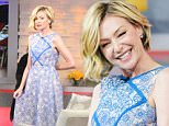 Portia de Rossi visits 'Good Morning America' in Times Square, NYC.\n\nPictured: Portia de Rossi\nRef: SPL949156  120215  \nPicture by: Doug Meszler / Splash News\n\nSplash News and Pictures\nLos Angeles: 310-821-2666\nNew York: 212-619-2666\nLondon: 870-934-2666\nphotodesk@splashnews.com\n