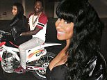 BEVERLY HILLS, CA - FEBRUARY 08:  (L-R) Meek Mill and Nicki Minaj attend Meek Mill Official Grammy Party on February 8, 2015 in Beverly Hills, California.  (Photo by Johnny Nunez/WireImage)