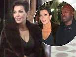 EXCLUSIVE: Kris Jenner leaves restaurant with boyfriend Corey Gamble during fashion week in New York City. The happy couple were spotted leaving Zuma as they walked with their friends and headed back to their hotel for the night. Kris was dressed in a fur coat and dress as she was all smiles with her man. This was the first time she was photographed with Corey since Bruce Jenner's gender change and accident in recent days.  Pictured: Kris Jenner, Corey Gamble, Jonathan Cheban Ref: SPL949911  120215   EXCLUSIVE Picture by: Jackson Lee/B Prahl Splash News  Splash News and Pictures Los Angeles: 310-821-2666 New York: 212-619-2666 London: 870-934-2666 photodesk@splashnews.com