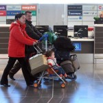 Airport travellers tourism tourists