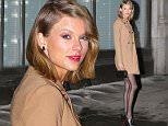 Taylor Swift steps out for dinner to the Spotted Pig in NYC in a beige coat and black stockings.\n\nPictured: Taylor Swift\nRef: SPL953285  170215  \nPicture by: XactpiX/Splash News\n\nSplash News and Pictures\nLos Angeles: 310-821-2666\nNew York: 212-619-2666\nLondon: 870-934-2666\nphotodesk@splashnews.com\n