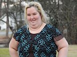 EXCLUSIVE: Family matriarch 'Mama June' Shannon looked upbeat and positive despite breaking up with beau Mike 'Sugar Bear' Thompson just days earlier amid more cheating accusations. The loudmouth star of now-axed TLC show 'Here Comes Honey Boo Boo' was spotted outside the family's home in rural McIntyre, Georgia, on Saturday (Jan 17th). June also appeared to have dropped a few pounds over the holiday season, sporting a somewhat slimmer figure.  ....Pictured: Mama June Shannon..Ref: SPL930271  170115   EXCLUSIVE..Picture by: Jason Winslow / Splash News....Splash News and Pictures..Los Angeles: 310-821-2666..New York: 212-619-2666..London: 870-934-2666..photodesk@splashnews.com..