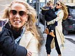 EXCLUSIVE: American actress Elizabeth Berkley seen taking her son Sky Cole Lauren with her to a photo studio in Chelsea, NYC, USA. \n\nPictured: Elizabeth Berkley and Sky Cole Lauren\nRef: SPL951887  160215   EXCLUSIVE\nPicture by: BKLNY / Splash News\n\nSplash News and Pictures\nLos Angeles: 310-821-2666\nNew York: 212-619-2666\nLondon: 870-934-2666\nphotodesk@splashnews.com\n