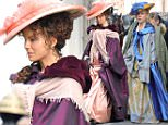 'Love and Friendship' filming on set in Dublin Featuring: Chloe Sevigny Where: Dublin, Ireland When: 17 Feb 2015 Credit: WENN.com **Not available for publication in Irish Tabloids, Irish magazines.**