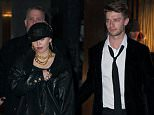 EXCLUSIVE: Miley Cyrus and Patrick Schwarzenegger attend a party at an exclusive night club called NO.8 in NYC.  Pictured: Miley Cyrus & Patrick Ref: SPL952263  160215   EXCLUSIVE Picture by: IGGI/@PapCultureNYC/Splash News  Splash News and Pictures Los Angeles: 310-821-2666 New York: 212-619-2666 London: 870-934-2666 photodesk@splashnews.com