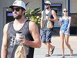 Please contact X17 before any use of these exclusive photos - x17@x17agency.com   Brody Jenner and Kaitlynn Carter get coffee to go and stay off the radar since Bruce Jenner's accident and recent reveal he's going through a transformation to become a woman  feb 16, 2015 X17online.com