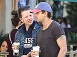 Picture Shows: Mia Goth, Shia LaBeouf  February 16, 2015    'Man Down' actor Shia LaBeouf and his girlfriend Mia Goth stop by Starbucks for a coffee in Los Angeles, California.     The pair were having a deep conversation as they left the famous coffee shop.     Exclusive - All Round  UK RIGHTS ONLY    Pictures by : FameFlynet UK © 2015  Tel : +44 (0)20 3551 5049  Email : info@fameflynet.uk.com